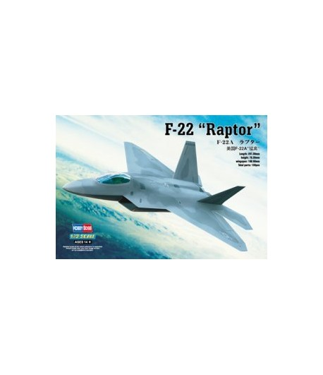 "F-22A ""RAPTOR"" HOBBY BOSS 80210"