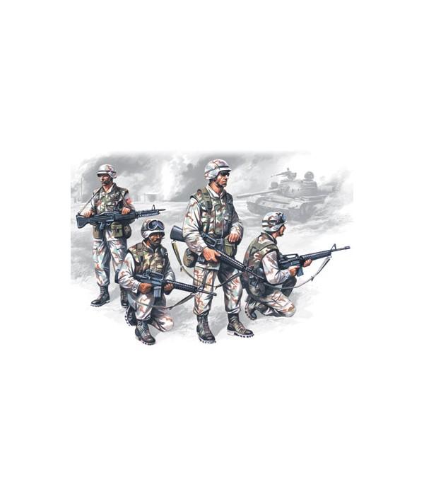 Фигуры Элитные войска США в Ираке ICM 35201