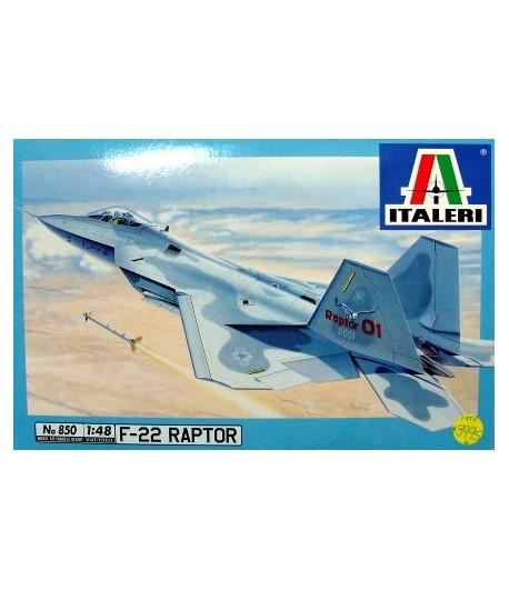 F/A-22 RAPTOR ITALERI 850