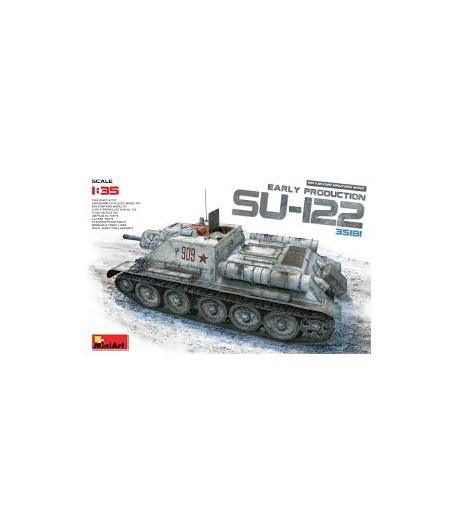 САУ СУ-122 MINIART 35181