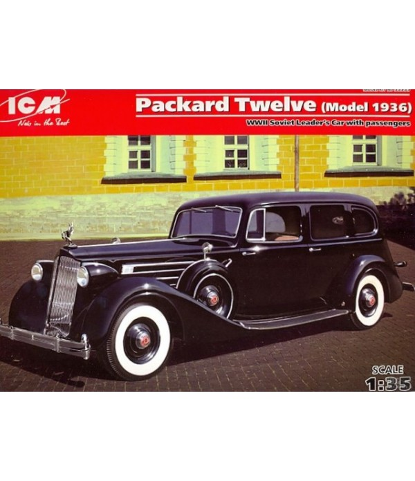 PACKARD TWELVE (MODEL 1936), WWII ICM 35535