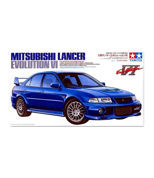 Автомобиль Mitsubishi Lancer Evolution VI TAMIYA 24213