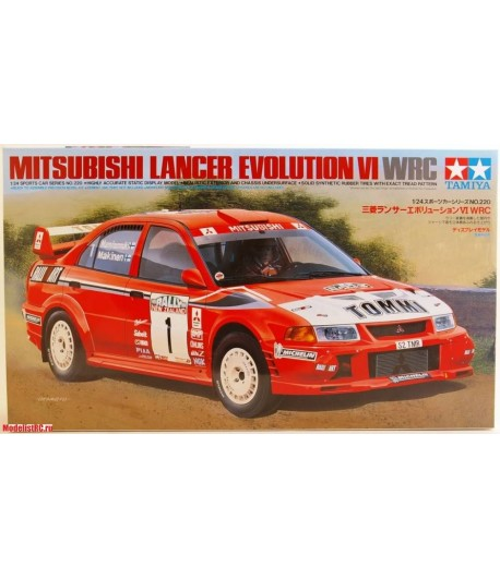 Автомобиль Mitsubishi Lancer Evolution VI WRC TAMIYA 24220