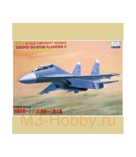 SU-27UB FLANKER MINI HOBBY MODELS 80301