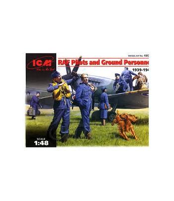 British Pilots & Ground Support Team ICM 48081