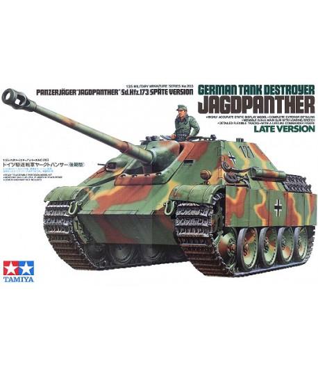 GERMAN TANK DESTROYER JAGDPANTHER (НЕМЕЦКИЙ ИСТРЕБИТЕЛЬ ТАНКОВ ЯГДПАНТЕРА НА БАЗЕ Т-5) TAMIYA 35203