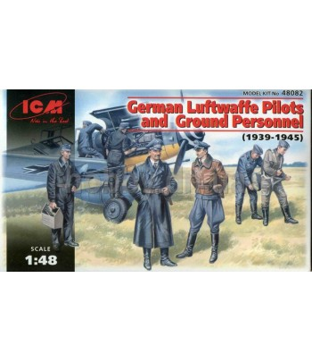 German Luftwaffe Pilots & Ground Personnel ICM 48082