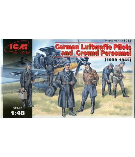German Luftwaffe Pilots & Ground Personnel ICM 48082