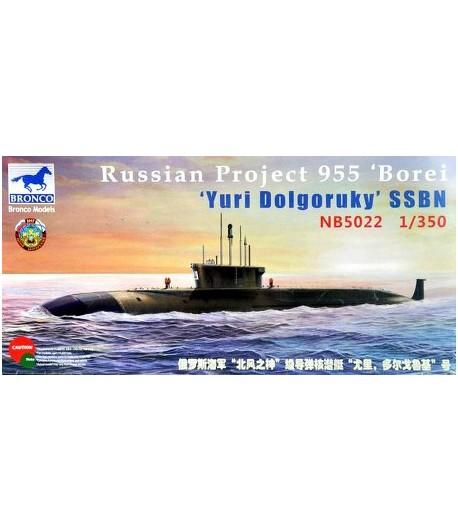 """Российская АПЛ """"Юрий Долгорукий"""" PROJECT 955 """"BOREI"""" BRONCO NB5022"""