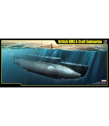 BRITISH HMS X-CRAFT SUBMARINE MERIT 63504