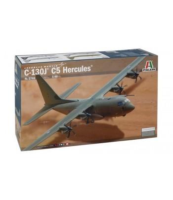 САМОЛЁТ HERCULES C-130J ITALERI 2746