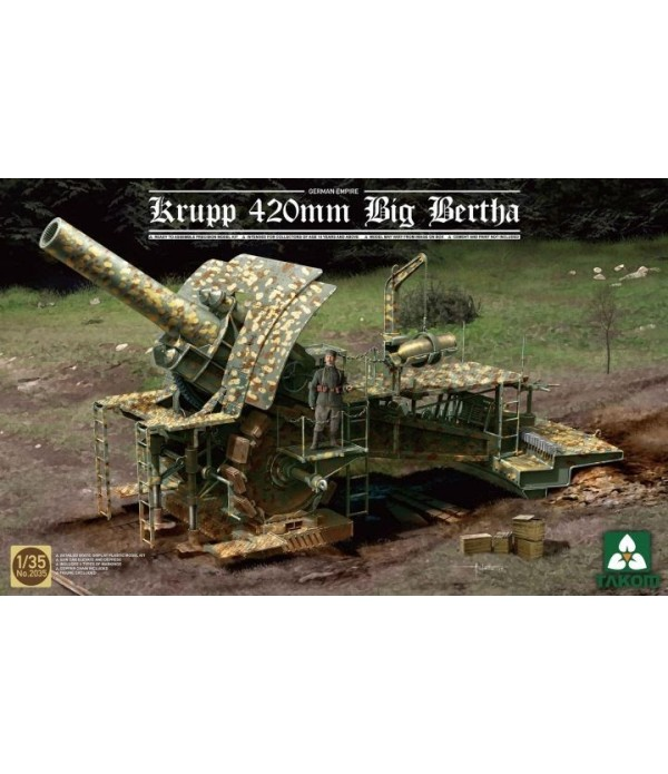 GERMAN EMPIRE 420MMC TAKOM TAK2035