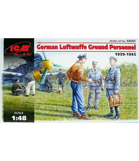 Наземный персонал ВВС Германии (1939-1945) ICM 48085