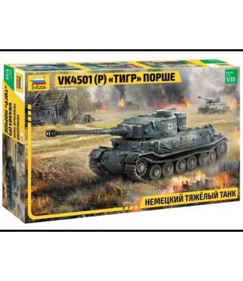 "Немецкий тяжелый танк ""Тигр"" Порше VK4501(P) ЗВЕЗДА 3680"
