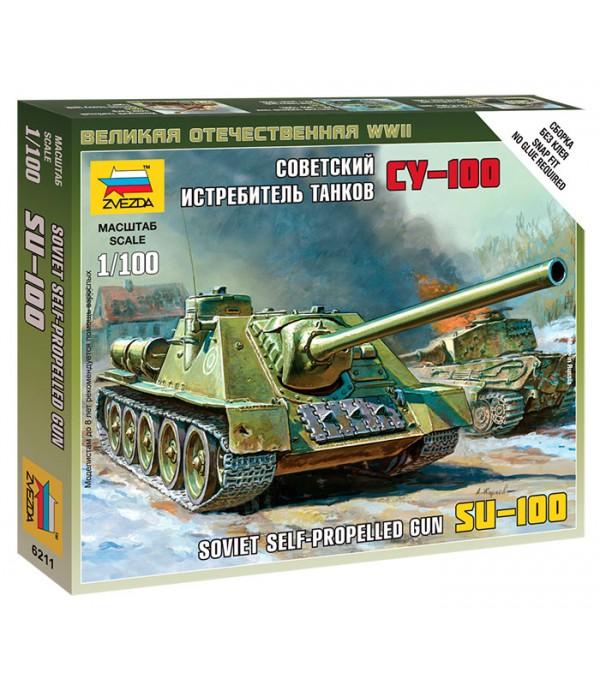 Советский истребитель танков СУ-100 ЗВЕЗДА 6211