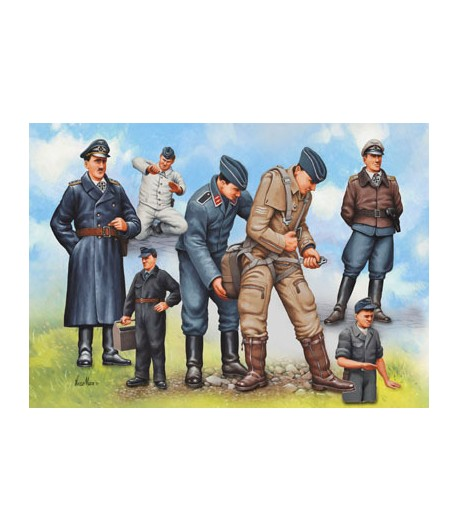 Pilots and Ground Crew German Luftwaffe, WWII REVELL 02621