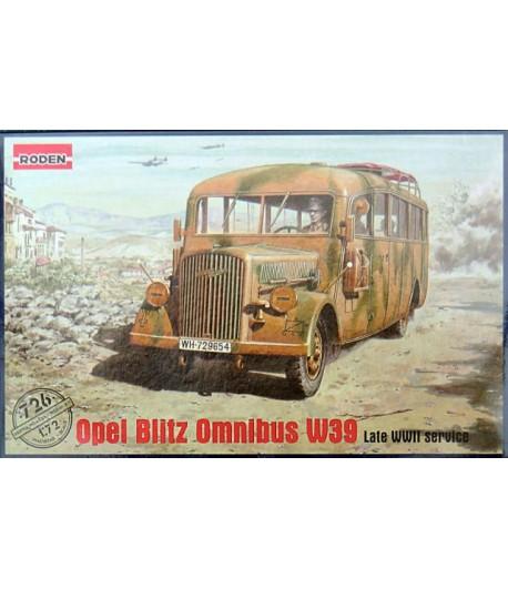 Opel Blitz Omnibus Model W39 RODEN 726