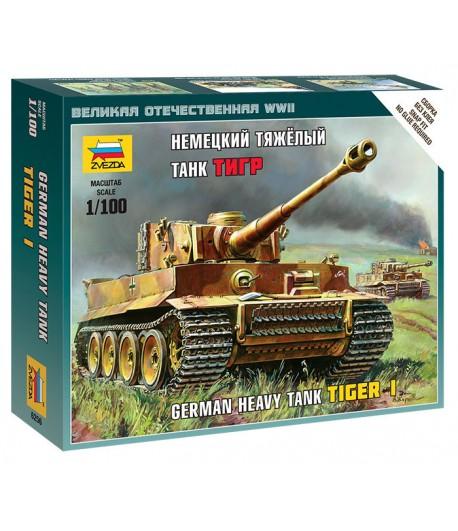 Немецкий тяжелый танк Тигр ЗВЕЗДА 6256