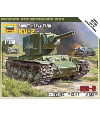 Советский тяжелый танк КВ-2 ЗВЕЗДА 6202