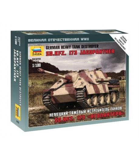 Немецкий тяжелый истребитель танков Sd.Kfz. 173 «Ягдпантера» ЗВЕЗДА 6183