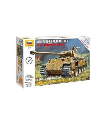 "Немецкий средний танк T-V ""Пантера"" Ausf.D ЗВЕЗДА 5010"
