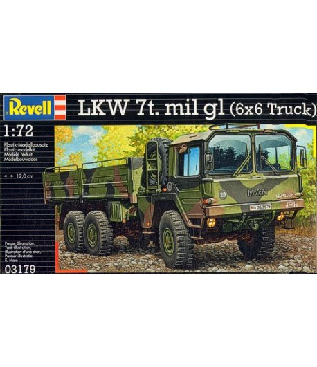 "НЕМЕЦКИЙ ТЯГАЧ ""MAN 7T MILGL"" REVELL 03179"