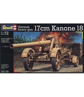 German heavy gun 17cm Kanone 18 REVELL 03176