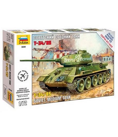 Советский средний танк Т-34/85 ЗВЕЗДА 5039