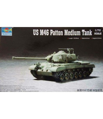 US M46 Patton Medium Tank TRUMPETER 07288