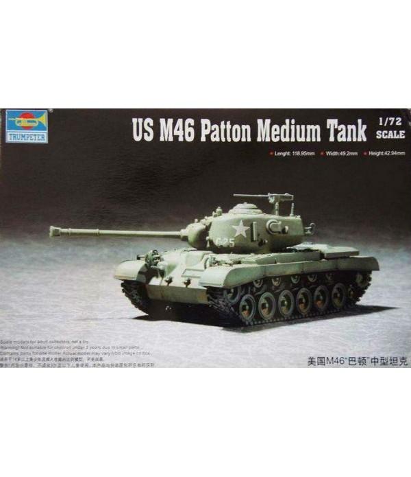 US M46 Patton Medium Tank TRUMPETER 07288