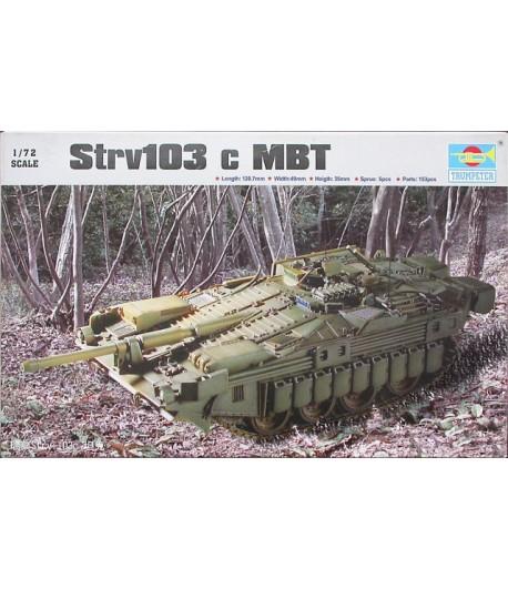 Танк Strv 103 c MBT TRUMPETER 07220