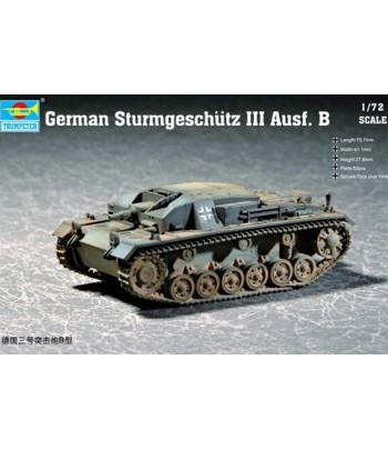 German Sturmgeschütz Ⅲ Ausf. B TRUMPETER 07256