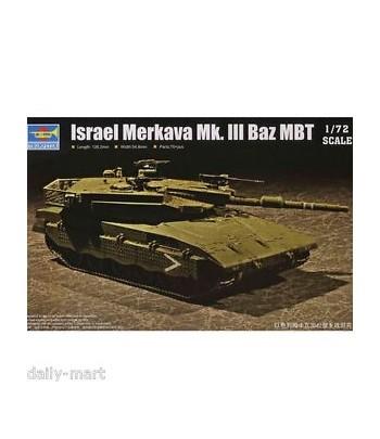 Танк Israel Merkava Mk.III Baz MBT TRUMPETER 07104