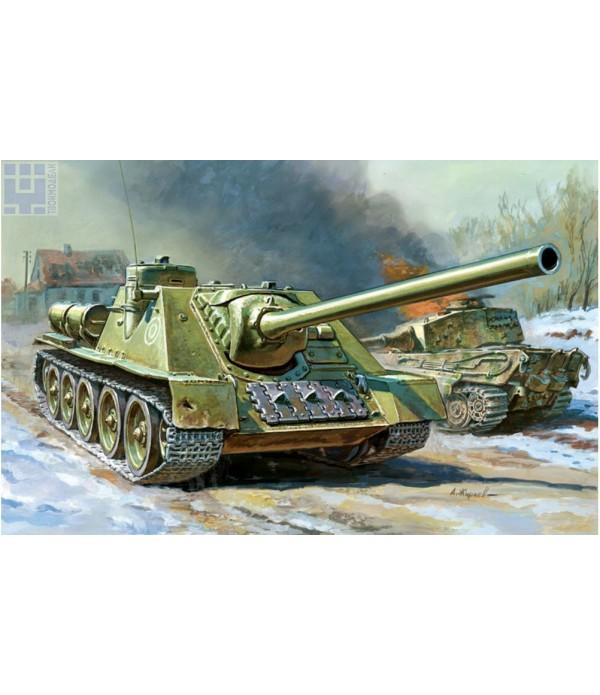 Советский истребитель танков СУ-100 ЗВЕЗДА 5044
