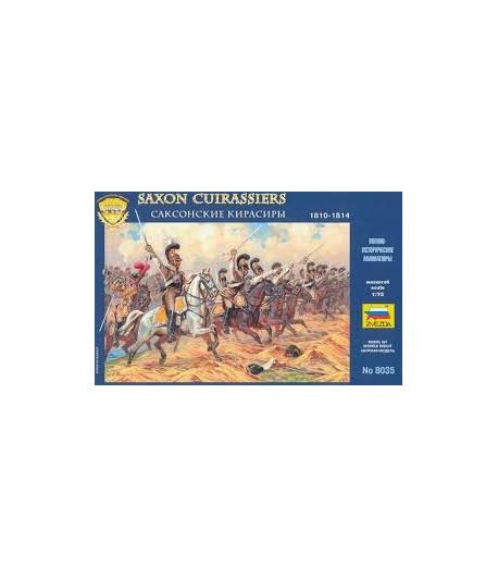Саксонские кирасиры 1810-1814 г.г. ЗВЕЗДА 8035