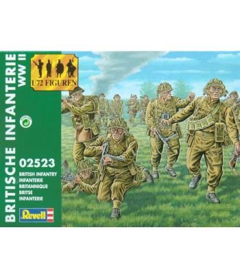Британская пехота British Infantry WWII (Вторая Мировая Война) REVELL 02523