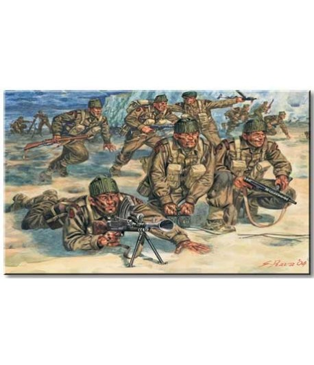 British Commandos ITALERI 6064