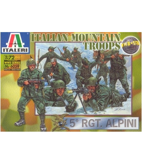 Italian Mountain Troops Alpini ITALERI 6059