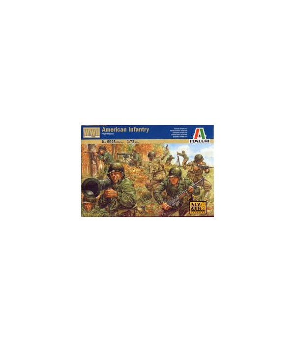 Солдаты American Infantry ITALERI 6046