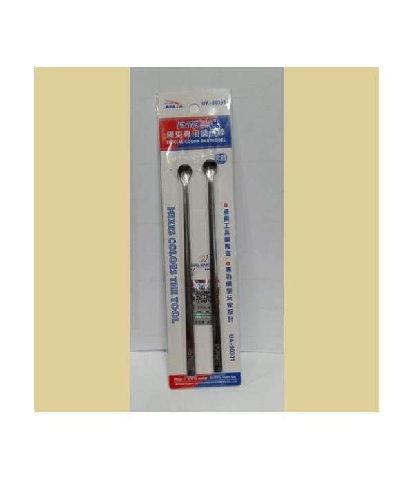 Набор шпателей-ложечек (2шт.) большие USTAR UA-90301