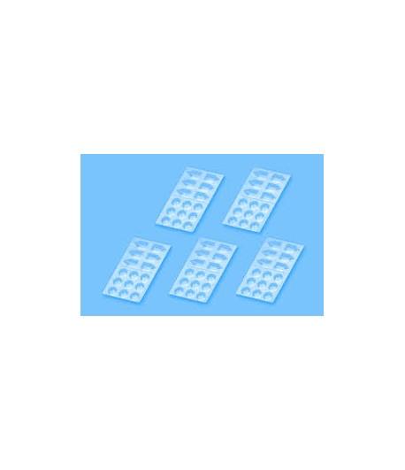 Набор пластиковых палитр для красок, 5 штук TAMIYA 87125