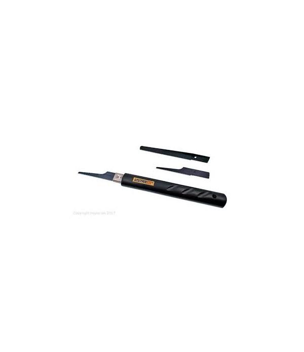 Ручка-пилка для пластика с дополнительными лезвиями USTAR UA-92600