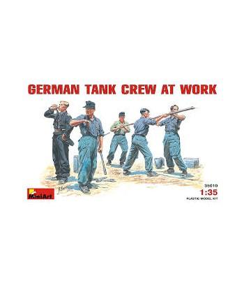 Немецкий танковый экипаж за работой MINIART 35010