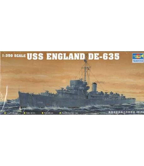 USS ENGLAND DE-635 1:350 TRUMPETER 05305