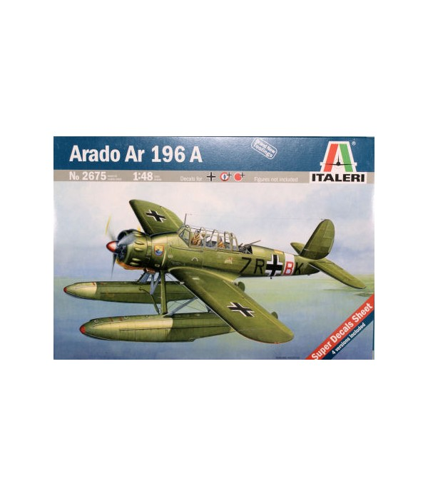 Самолет Аrado Ar 196 A-3 ITALERI 2675