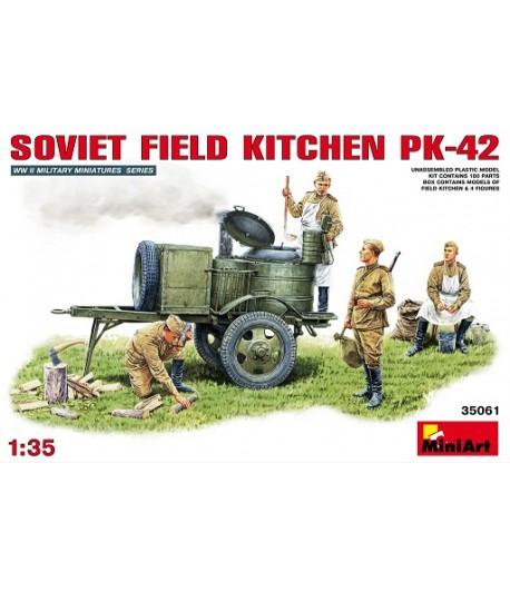Советская полевая кухня кп-42 MINIART 35061