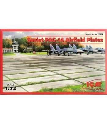 Советские плиты аэродромного покрытия ПАГ-14 ICM 72214