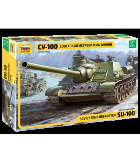 Советский истребитель танков СУ-100 ЗВЕЗДА 3688