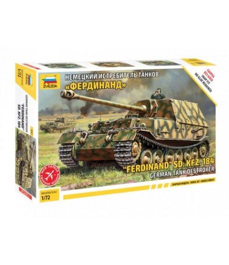"""Немецкий истребитель танков """"Фердинанд"""" ЗВЕЗДА 5041"""