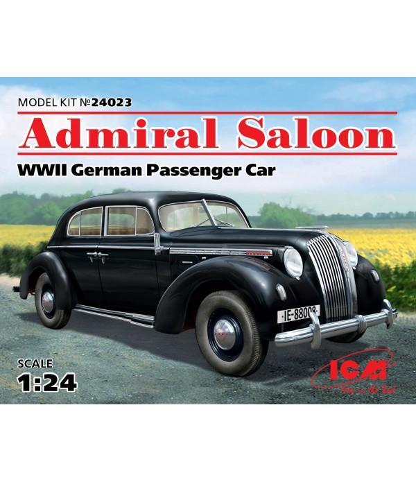 Германский пассажирский автомобиль 2 Мировой войны, Admiral Седан ICM 24023
